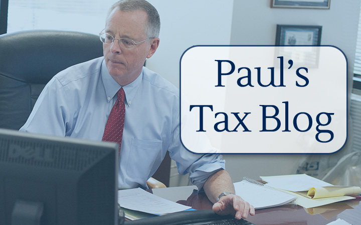 Paul's Tax Blog