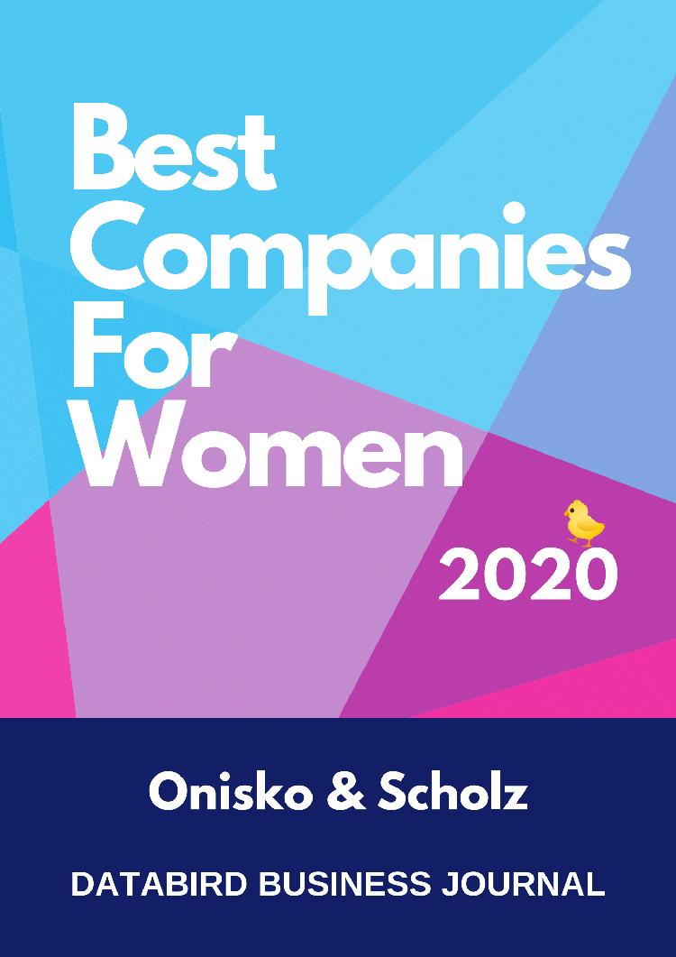 best companies for women award